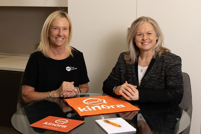 Founder and Executive Director at My Plan Manager Claire Wittwer-Smith and My Plan Manager CEO Jane Kittel