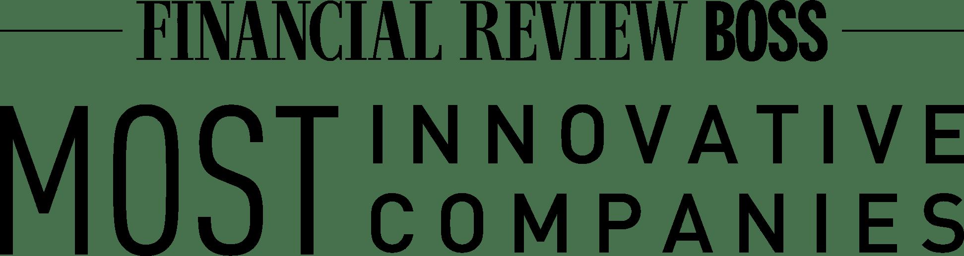 Financial Review Boss Most Innovative Companies logo